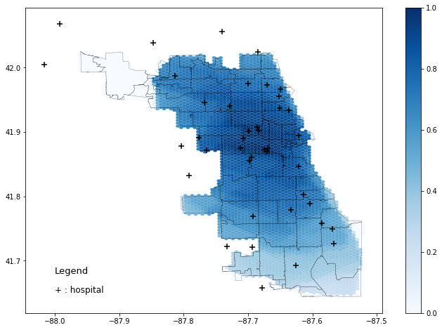 Rapidly Measuring Spatial Accessibility of COVID-19 Healthcare Resources
